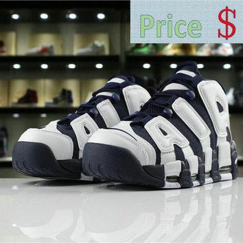 fashion shoe buy Nike Air More Uptempo OLYMPIC 2016 RELEASE 414962 104 white mid nvy-mtllc gld-unvrst shoe