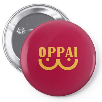 oppai   one punch man Pin-back button