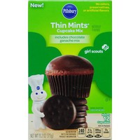 Pillsbury Thin Mints Girl Scouts Cupcake Mix, 13.2 oz - Walmart.com