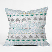 Kris Tate Kowaii Throw Pillow