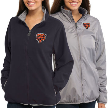 Women's Chicago Bears NFL Pro Line Gray Reversible Jacket
