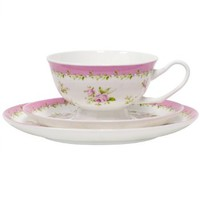 Annie Cup, Saucer and Plate Set