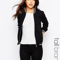 New Look Tall Varsity Bomber Jacket