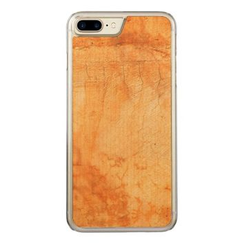 Italian style terracotta brick wall carved iPhone 7 plus case