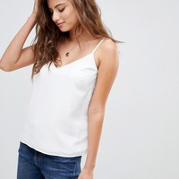ASOS DESIGN Fuller Bust eco swing cami with double layer at asos.com