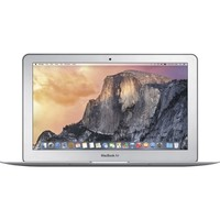 "Apple - MacBook Air® (Latest Model) - 11.6"" Display - Intel Core i5 - 4GB Memory - 128GB Flash Storage - Silver"