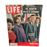 Vintage Life Magazine  John F Kennedy and by houseofheirlooms