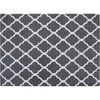 carpet dye walmart. chesapeake merchandising inc cotton printed grey and white quatrefoil geometric rug walmart carpet nasty dye