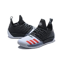 Adidas Harden Vol.2 Black White Grey Men Sneakers