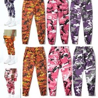 Hip-hop Camouflage Training Pants [1003076878372]