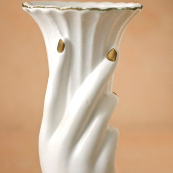 Rubens Originals Vintage Japan Ceramic Hand Vase, 1950s