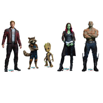 Guardians Of The Galaxy Vol 2 Cardboard Standup Set