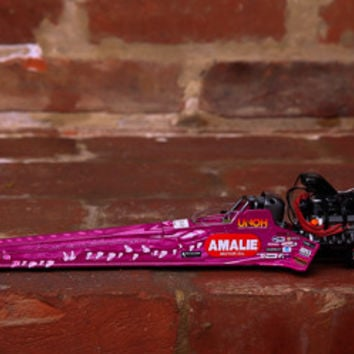 Terry McMillen Pink Top Fuel Die-Cast Dragster