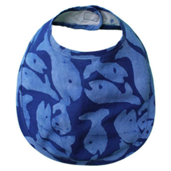 Fair Trade School of Fish Batik Bib