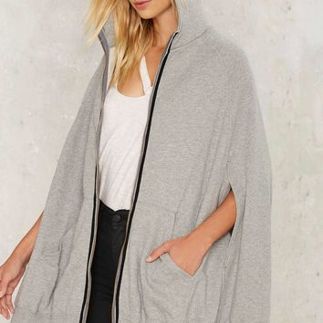 Break a Sweat Poncho Jacket