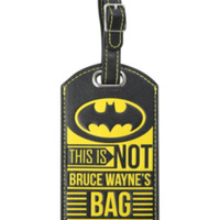 DC Comics Batman Luggage Tag