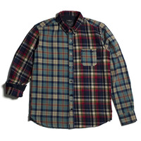 11 After 11 Mix Flannel Check Shirt