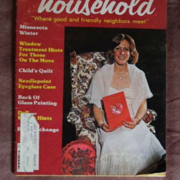 Womens Household Magazine February 1979 Crafts Sewing