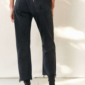 Urban Renewal Remade Levis Long Cropped Jean - Urban Outfitters