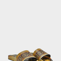 Versace Cornici Print Slides for Men | US Online Store