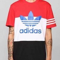 adidas Originals Colorblock Tee- Red