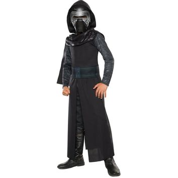 Star Wars Force Episode 1 2 3 4 5 New Arrival Boys Deluxe  The Force Awakens Kylo Ren Classic Cosplay Clothing Kids Halloween Movie Costume AT_72_6