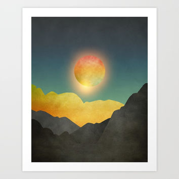 Surreal sunset 01 Art Print by marcogonzalez