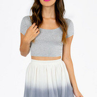 Say Ombre Skater Skirt $35