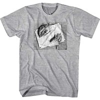 DRAWING HANDS MENS TEE