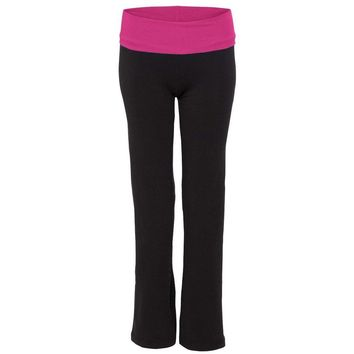 Yoga Clothing for You Womens Cotton/Spandex Fitness Pants