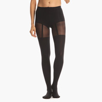 Women's Suspender Tights (Black)