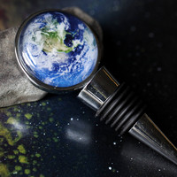 Galaxy Wine Stopper - Choose Your Space Image