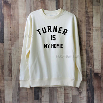 Turner is My Homie Shirt Alex Turner Shirt Sweatshirt Sweater – Size XS S M L XL