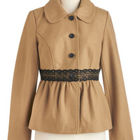 Tulle Clothing Mid-length Long Sleeve Chateau Place Like Home Jacket