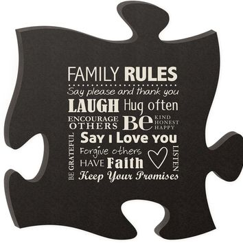 Wooden Wall Decor - Family Collection
