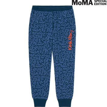 WOMEN SPRZ NY SWEATPANTS (KEITH HARING) | UNIQLO
