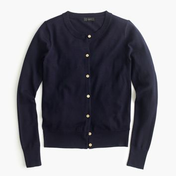 Lightweight wool Jackie cardigan sweater : Women Cardigans & Shells | J.Crew