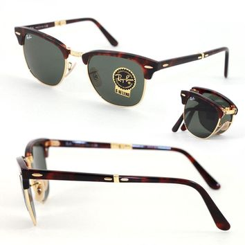 Day-First™ Cheap Sunglasses RayBan 2176 ¡Clubmaster Folding, caliber 51 outlet