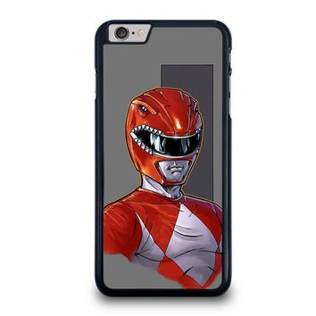 power rangers red iphone 6 6s plus case cover  number 1