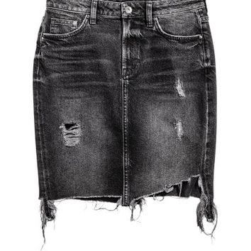 H&M Denim Skirt Trashed $34.99