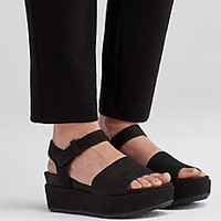 Jasper Wedge Sandal in Tumbled Nubuck-EF44190