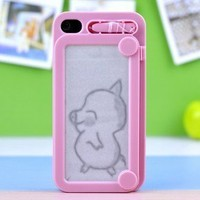 Drawing protective IPhone 4/4s case cover