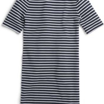 Sperry Top-Sider Yachting Stripe Crew Neck Dress Navy/White, Size S  Women's