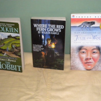 The Hobbit Where the Red Fern Grows Julie of the Wolves Ballet Stories