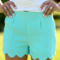 Penelope Shorts - Mint