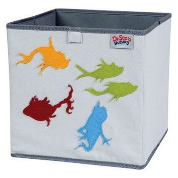 Dr. Seuss One Fish, Two Fish Storage Bin