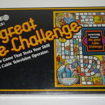The Great Cable Challenge Board Game