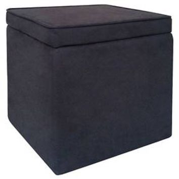 Room Essentials™ Cube Storage Ottoman - Coral : Target