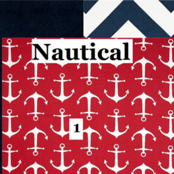 "Custom Boy Car Seat Cover ""Nautical"", replacement cover, red anchors, navy, chevron, slip cover"