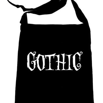 Gothic Way of Life Sling Bag Tote Strange Unusual Spooky Creepy Dark Alternative Clothing Book Bag